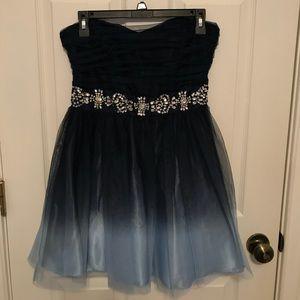 Dresses & Skirts - Blue ombré formal dress